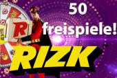 50 Freespins Rizk