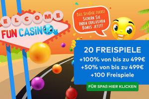 20 free spins fun casino no deposit