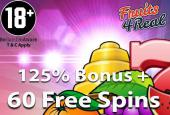 free spins fruits4real casino