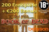 200 book of dead freispiele