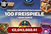 jackpot free spins wheel of wishes
