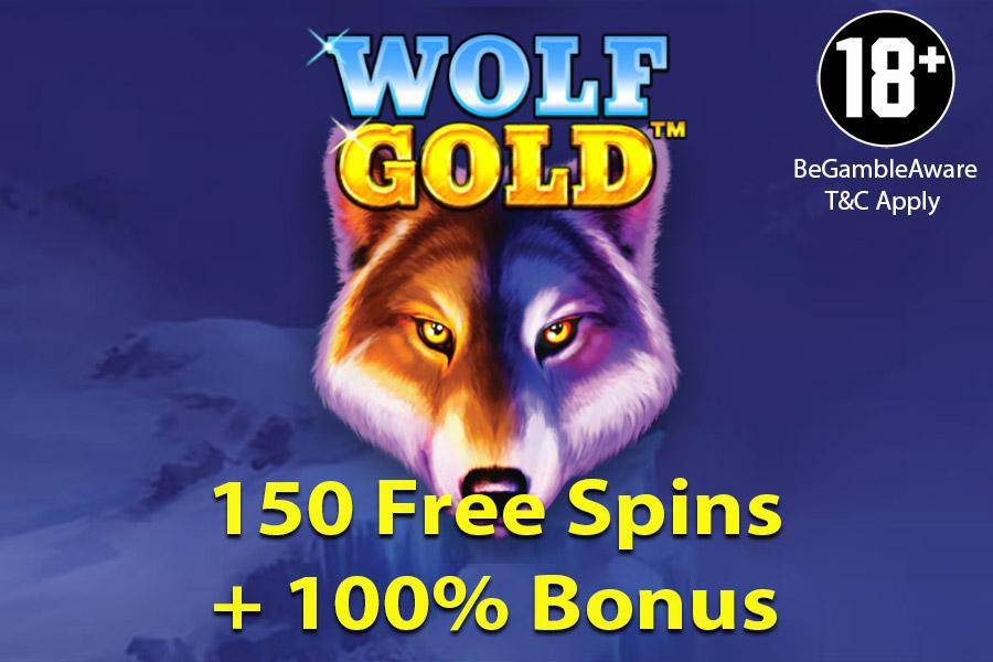 woo casino free spins wolf gold