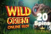 Freespins Wild Orient Euro Palace Casino